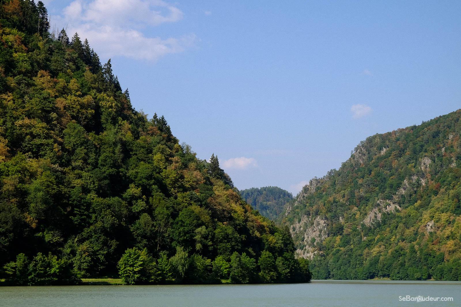 Après Passau, en Autriche